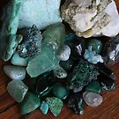 Crystals: The Green Collection by aussiebushstick