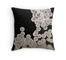 Spider Eggs Throw Pillow