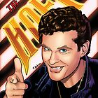 David Hasselhoff Print by paulabstruse