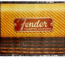 fender tweed guitar art print photographic print music wall decor by guitarartprint