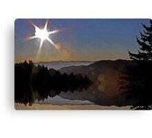 Keep Shining Canvas Print