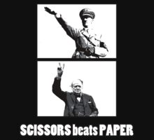 SCISSORS beats PAPER by Cosmodious