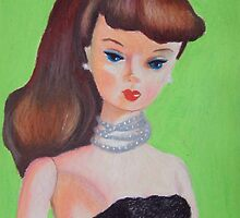 Brunette Barbie by RustyandJosh