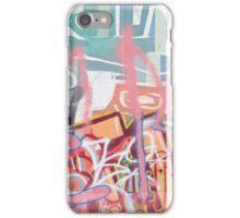 Graffitti Wall montage iPhone Case/Skin