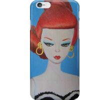 Red Haired Barbie iPhone Case/Skin