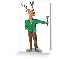 Deer Guy Greeting Card