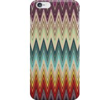 Zig Zag Striped Pattern iPhone Case/Skin