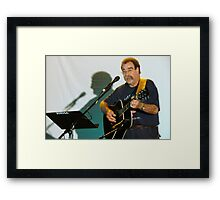 MUUSA - Ken at Coffeehouse Framed Print