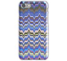 Missoni Blue Zig Zag Pattern iPhone Case/Skin