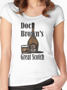 Doc Brown's Great Scotch Women's Fitted Scoop T-Shirt