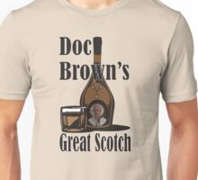 Doc Brown's Great Scotch Unisex T-Shirt