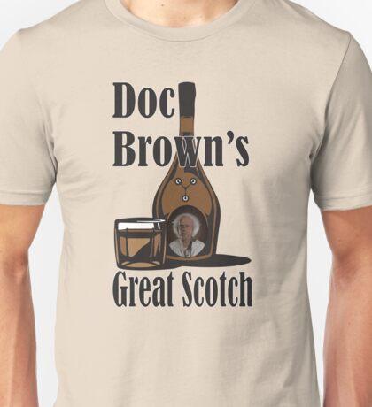 Doc Brown's Great Scotch Unisex T-Shirt