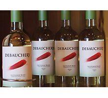 Perfect Wine Pairing Photographic Print