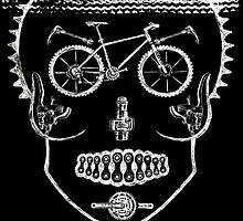 Single Track Mind - Skull by CYCOLOGY