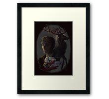 Hannibal: Unholy Trinity Framed Print