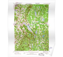 USGS TOPO Map New Hampshire NH Mascoma 330143 1927 62500 Poster