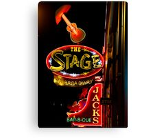 The Stage in Nashville Canvas Print