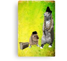 B-Boy Rodents Canvas Print