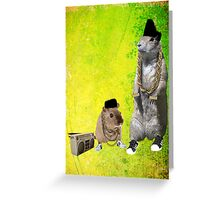 B-Boy Rodents Greeting Card