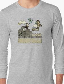 Mega Man Joins The Battle! Long Sleeve T-Shirt