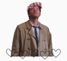 Flower crown Castiel by wllgraham