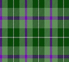 02720 Thistle and Kudzu Scottish Society Tartan Fabric Print Iphone Case by Detnecs2013