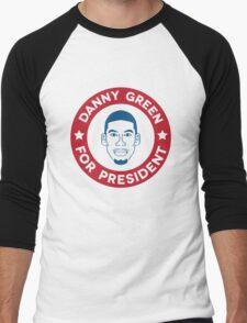 Danny Green for President Men's Baseball ¾ T-Shirt