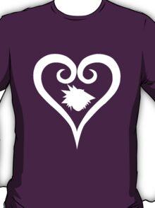 Sora Heart - White (Kingdom Hearts) T-Shirt