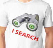 binocular device - i search Unisex T-Shirt