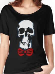 Wholock skull and bowtie Women's Relaxed Fit T-Shirt