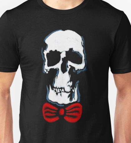 Wholock skull and bowtie Unisex T-Shirt