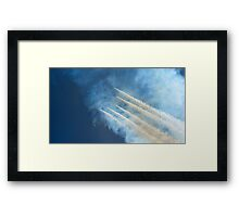 Diamond In The Sky Framed Print