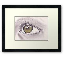 Eye 1 Framed Print
