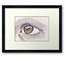 Eye 1 Framed Print
