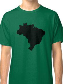 Map of Brazil Classic T-Shirt