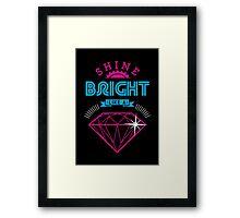 Shine Bright Framed Print