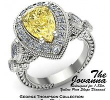 Fabulous Diamond Engagement Rings in California by George Thompson Diamond Company