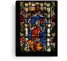 John de Charleton 1268-1353 Canvas Print