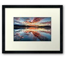 Morning Grace - Narrabeen Lakes NSW - The HDR Experience Framed Print