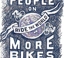 More People on More Bikes More Often by CYCOLOGY