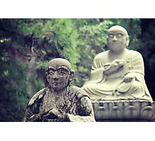 2 Statues  Photographic Print