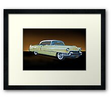 1955 Cadillac Coupe De Ville 116 Framed Print