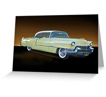 1955 Cadillac Coupe De Ville 116 Greeting Card