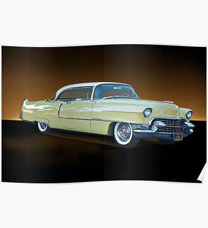 1955 Cadillac Coupe De Ville 116 Poster