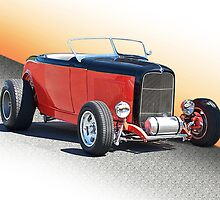 1932 Ford Roadster 115 by DaveKoontz