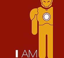 I AM Iron man by saboe