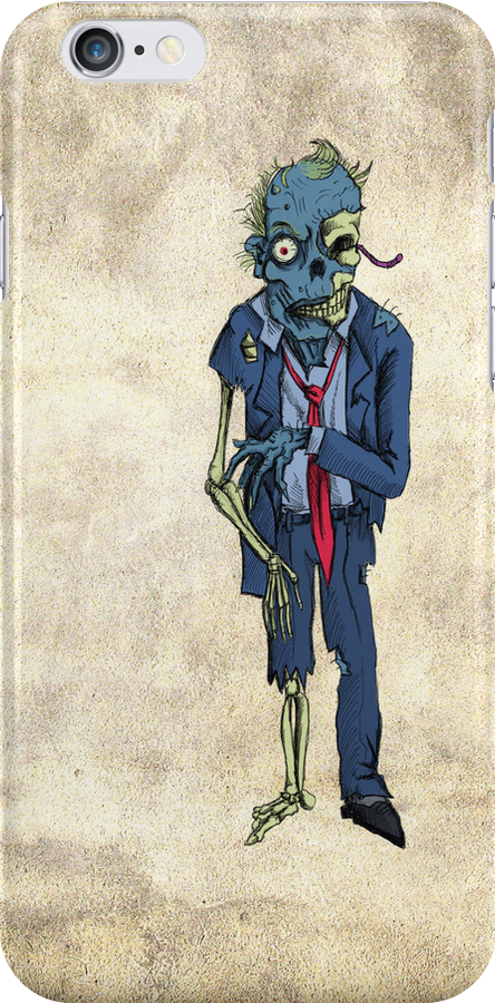 Zombie in a suit by Extreme-Fantasy