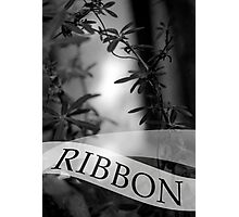 ribbon Photographic Print
