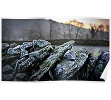 Dry Stone Wall Poster