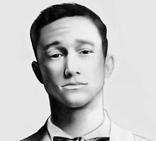 Joseph Gordon-Levitt - Graphite Drawing by EmzART